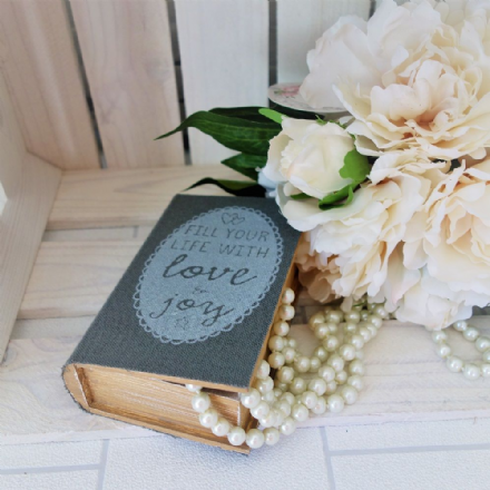 20% OFF Wooden Love Book Box
